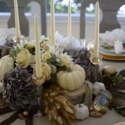 Not Your Traditional Fall Tablescape